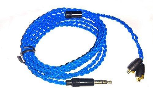 Micity de remplacement de mise à niveau Audio câble d'extension cord Lead pour Sennheiser Ie8Ie80Ie8i Shure SE535SE215SE315SE425Se846Ue900Écouteurs casques Écouteurs