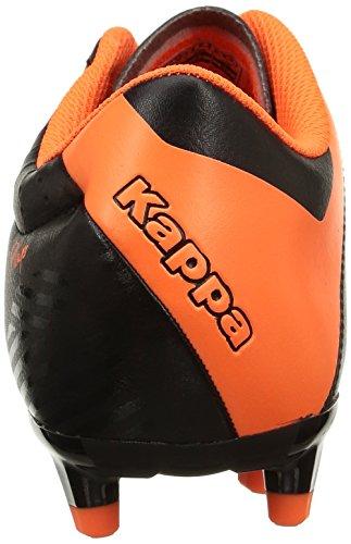 Kappa Player Fg Base, Herren Fußballschuhe Schwarz (906/black/orange Fluo)