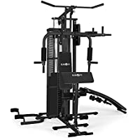 Klarfit Ultimate Gym 5000 • Kraftstation • Heimtrainer • Trainingsstation • multifunktionale Fitnessstation • für über 50 Übungen • Ganzkörpertraining • inkl. Gewichte • schwarz oder weiß