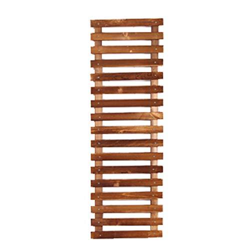 WZHFLOWERSTAND Need Punch, Anti-Korrosion Holz Wohnzimmer Wand Blume Regal Balkon Wand Hängen Holzwand Pflanze Rahmen Hängen Wand Topf Rack, Multi-Größe Optional (größe : 30 * 90cm)