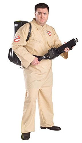 Ghostbusters Adult Plus Size Halloween costume Fancy (Kostüme Size Plus 80er)