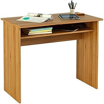 meka block k 9465n schreibtisch 90 cm breit farbe walnuss k che haushalt. Black Bedroom Furniture Sets. Home Design Ideas
