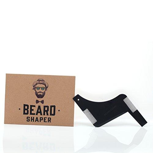 Bardland hzs-01barba pettine strumento shaping template rifilatura grooming kit