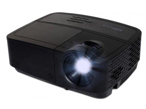 InFocus IN2124a XGA 4:3 3D DLP-Projektor Beamer (Wireless-LAN, 3500 ANSI Lumen, 15000:1 Kontrast, , LAN / RJ45 Netzanschluss, 2GB Speicher) Infocus Data Projector