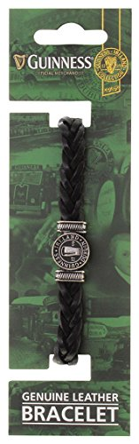 guinness-ireland-collection-genuine-black-leather-bracelet-with-silver-pint