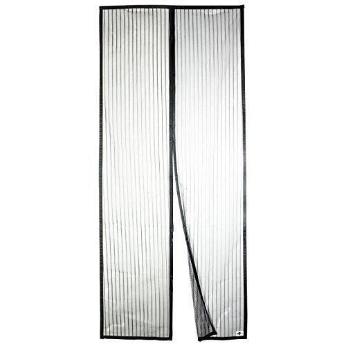 APALUS Cortina mosquitera magnética para puertas, 90x210cm, con malla super fina para dejar pasar el aire fresco, y cierre magnético que se cierra automáticamente para dejar a los insectos fuera