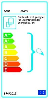 Eglo Aussen Wandleuchte Modell Milton / in verzinktem Stahl und klarem Glas / HV 1 x E27 max. 60 W / exklusivLeuchtmittel / Schutzgrad IP44 / Höhe 31 cm / Ausladung 31 cm 88489 von Beco GmbH & Co. KG auf Lampenhans.de
