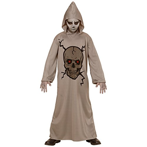 Imagen de disfraz de calavera maestro widmann, vestido con capucha