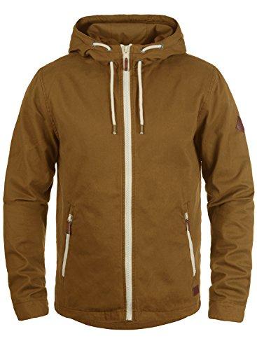 Blend Bobby Herren Übergangsjacke Herrenjacke Jacke Mit Kapuze Aus 100% Baumwolle, Größe:M, Farbe:Dark Mustard (75116)