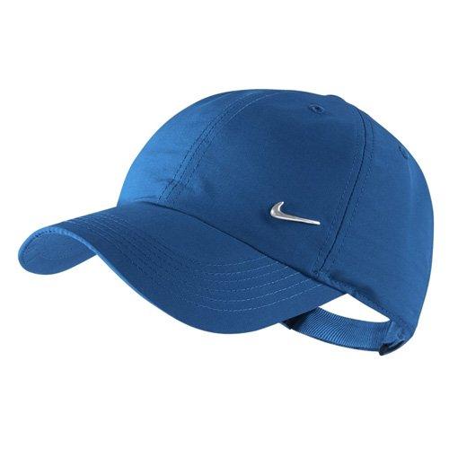 Nike Kids Metal Swoosh Cap - blue nebula/metallic silver, Größe:-