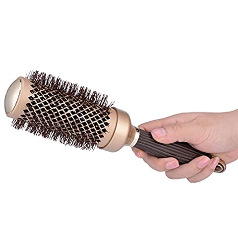 45mm Big Size Ceramic Round Brush Set, Ionic Thermal Hair Styling Brush, Hair Dryer Heat Comb for Drying Curling Styling