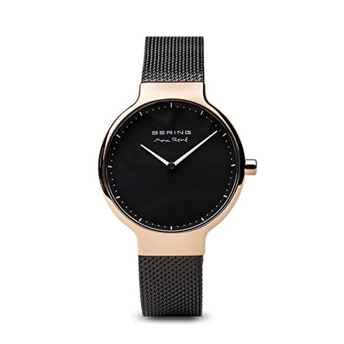 BERING Damen-Armbanduhr Analog Quarz Edelstahl 15531-262