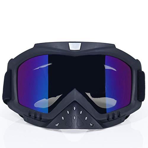 Männer & Frauen Motorradbrillen Brille Ski Sport Gafas für Motorrad Dirt Bike Racing Goggles