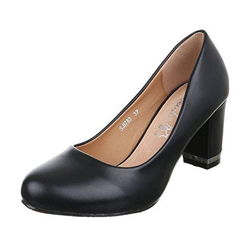 Damen Schuhe Moderne Geschlossen Komfort Pumps Pumps Pump Schwarz