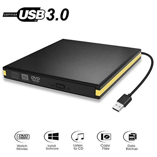 Externes Blu-ray-Laufwerk Hochgeschwindigkeits-USB 3.0-Blu-ray- / BD-RE-CD- / DVD-Recorder Wiedergabe von 3D-Blu-ray-Discs Slim Portable Mobile Drive für Laptop/Desktop (Portable Blu-ray-3d-player)
