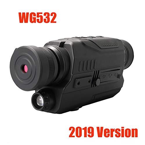 ANZQHUWAI Digitales Nachtsichtgerät in/frArOTsCh 940NM Nachtsicht-Jagd-Bereich mit 8G TF,WG532