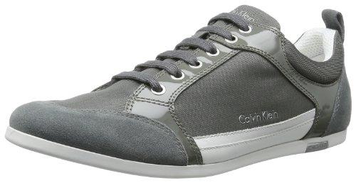 Calvin Klein Cash, Baskets mode homme Gris (Ldw)