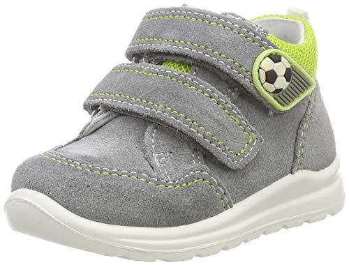 superfit Baby Jungen Mel Sneaker, Grau (Hellgrau/Hellgrün 25), 23 EU
