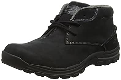 f3efd48b370f2 Image Unavailable. Image not available for. Colour: Skechers Braver Horatio  Chukka Boot ...