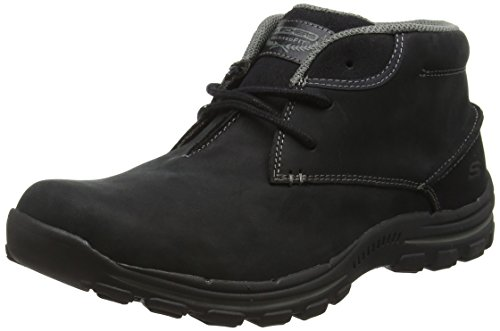 Skechers Men's Braver-Horatio Ankle Boots, Black, 9 UK 43 EU