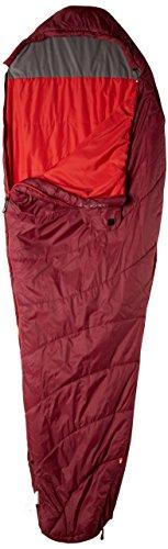MILLET LD -Sacco a Pelo Baikal 750, Sacco a Pelo da Donna, da Trekking, per destrimani, Colore: Rosso Velluto