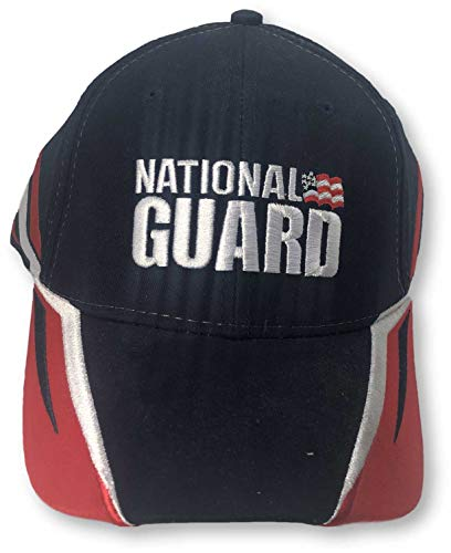Checkered Flag Karierte Flagge Dale Earnhardt Jr National Guard Verstellbarer Hut, Marineblau Dale Earnhardt Jr Cap