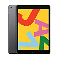 ‏‪Apple iPad 10.2-Inch ( 2019 )  without Facetime 128GB, Wi-Fi, Space Gray‬‏