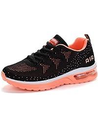 2070d67563774 Flarut Hombre Zapatos para Correr en Montaña y Asfalto Aire Libre y Deportes  Zapatillas de Running Padel para Mujer…