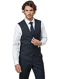 233c7d20409 Lanificio F.lli Cerruti Dal 1881 Cloth Men`s Tailored Fit Navy Waistcoat