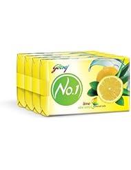 Godrej No.1 Lime and Aloe Vera Soap, 100gm (Buy 3 Get 1 Free)