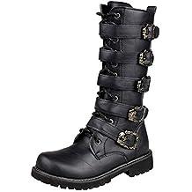 Shoes Stivali da Uomo in Pelle Morbida e Confortevole e1f46ae908b