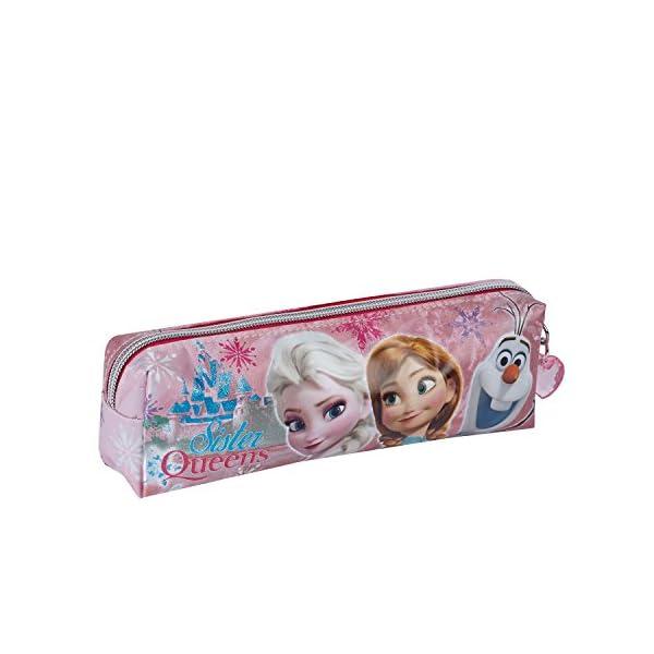 Frozen/Frozen–47596–Estuche Escolar Tubo