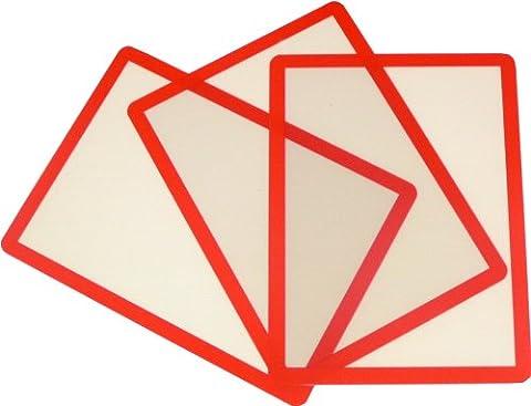 The Products Store Lot de 10 cadres photo autoadhésifs pour photos de format A2 Pour photos de 60 x 42 cm - rouge