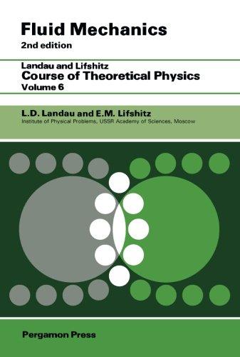 Fluid Mechanics: Landau and Lifshitz: Course of Theoretical Physics, Volume 6
