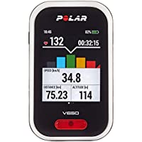 Polar Unisex V650 GPS Cycling Computer with Heart Rate Monitor, Black, One Size