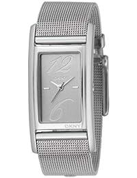 Dkny NY3992 - Reloj con correa de acero para mujer, color plateado / gris
