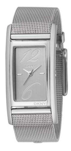 DKNY NY3992 Ladies Stainless Steel Mesh Bracelet and Silver Dial Watch