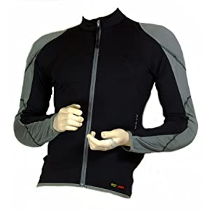 Marc Girardelli Damen Protection Jacket Lycra (mit Rücken-, Schulter-, Ellenbogen-, Leber-, Milz- und Nierenschutz) Bikeprotektor, Skiprotektor, Snowboardprotektor Jacke