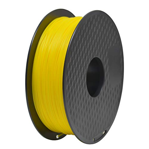 GEEETECH Filament PLA 1.75mm for 3D Drucker 1kg Spool, Gelb