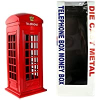 Geld Boxen London Red Telephone Box Spardose aus Die Cast Metall, London Collectable Souvenir preisvergleich bei kinderzimmerdekopreise.eu