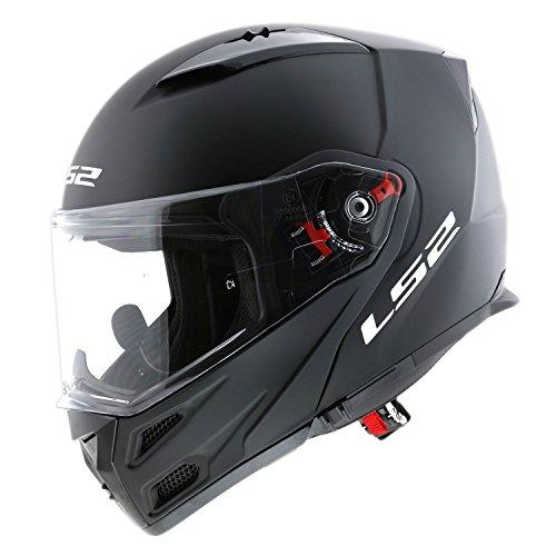 LS2 Full Face Helmet 324 Met®o Bluetooth Matt Black