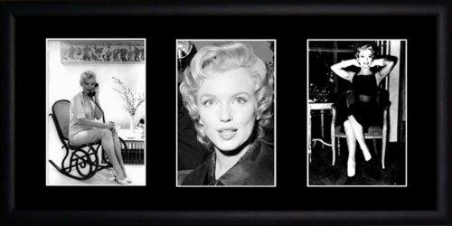 Marilyn Monroe gerahmtes Foto (Monroe Frames Marilyn Picture)