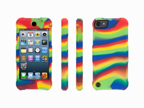 Griffin Technology Primary Color Swirl Survivor Skin for iPod touch (5th gen.)