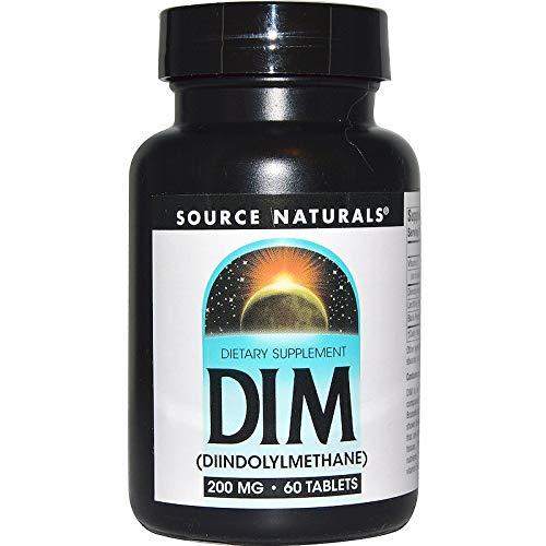 Source Naturals, DIM (Diindolylmethan), 200 mg, 60 Tabletten -
