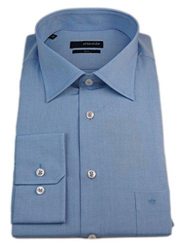 Seidensticker Herren Langarm Hemd UNO Regular Fit blau 138760.16 Blau