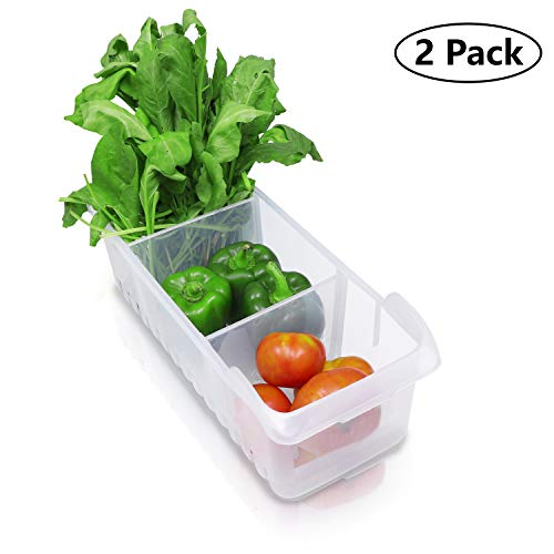 Refrigerador Cajón Organizador 2Pack - Refrigerator