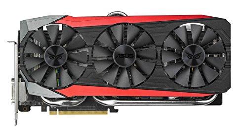 Asus Strix-R9390X-DC3OC-8GD5-GAMING AMD Gaming Grafikkarte (PCIe 3.0 x16, 8GB DDR5 Speicher, HDMI, DVI, 3x DisplayPort) -