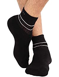 Jockey Men's Socks (Pack of 3) (Colors May Vary) (8901326039151_7036-0310- Assorted FREE SIZE)