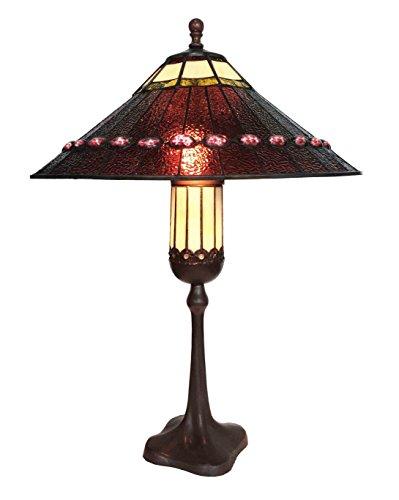 Tiffany Leuchte Lampe Jugendstil Kolonial Proud 79cm