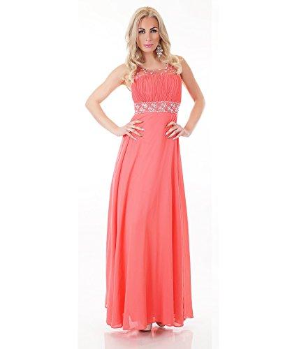 Fashion - Robe - Femme Corail